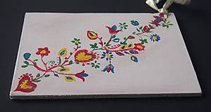 Papiernictvo - Slovenské ľudové drevené pohľadnice - 6182000_
