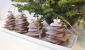 Vianočné stromčeky pocukrované