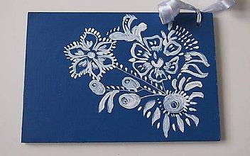 Papiernictvo - Slovenské ľudové drevené pohľadnice - 6181657_