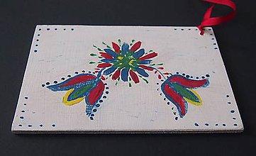Papiernictvo - Slovenské ľudové drevené pohľadnice - 6181916_