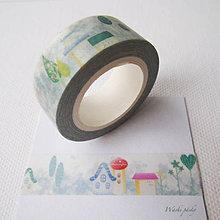 Papier - domčeky - 6180617_
