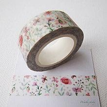 Papier - ružová lúka - 6180631_