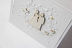 - Nežná svadobná pohľadnica - 6180214_