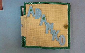 Hračky - Quiet Book / Latkova kniha pre Adamka - 6182224_