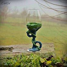 Nádoby - Pohár na víno Ervín - 6182899_