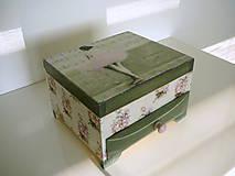 Krabičky - Šperkovnica Baletka Paris - 6183025_