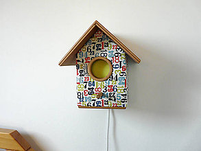 Detské doplnky - Svietidlo ŽIŽA búdka 565 - 6185864_