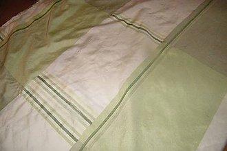 Textil - Olivovo-zelená látka na koberec - 6185593_