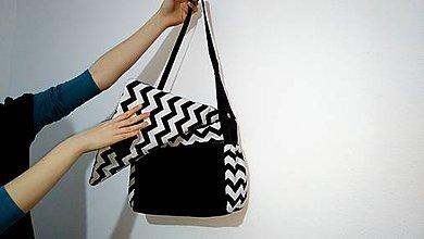 Veľké tašky - Chevron - my big bag - 6188722_