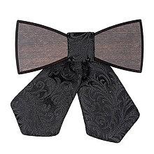 Náhrdelníky - VÝPREDAJ - Dámsky drevený motýlik Taura - 6188459_