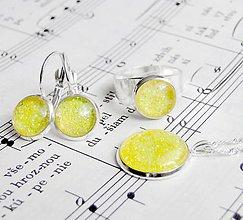 Sady šperkov - Yellow Sparkles Set - 6187003_