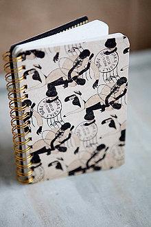 Papiernictvo - Zápisník The jazz age - 6187208_