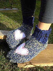 Obuv - Ponožky - srdcovky - 6187382_