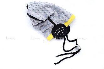Detské čiapky - Wifi čiapka -silver zimná - 6188116_