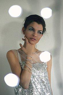 Šaty - sparkling dress - 6189573_