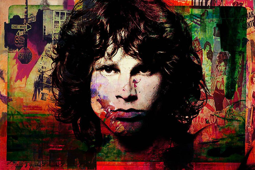 Pop Art Obraz Jim Morrison