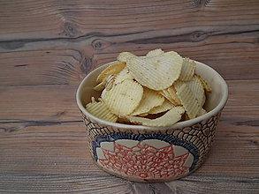Nádoby - Miska chipsová Slnko 800ml - 6192023_