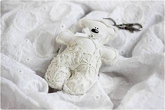 Kľúčenky - prívesok Teddy - 6191597_