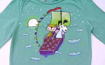 Detské oblečenie - Detské tričko Rozprávkové - 6189822_
