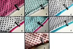 Detské súpravy - zimná súprava s menom a odopínacím brmbolcom Pink&fuchsia ...alebo farbu si vyber! - 6192226_