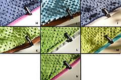 Detské súpravy - zimná súprava s menom a odopínacím brmbolcom Pink&fuchsia ...alebo farbu si vyber! - 6192228_