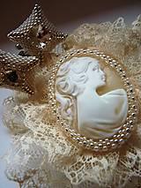 Šperky - Mr.Perfect - vanilla and silver - 6190686_