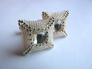 Šperky - Mr.Perfect - vanilla and silver - 6190685_