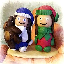 Dekorácie - Vianočné postavičky - 6191556_