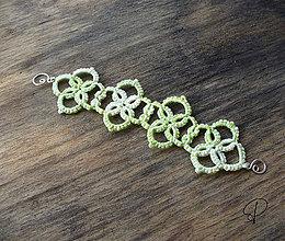 Náramky - veselý zelený - 6190595_