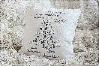 Úžitkový textil - Christmas Romance I - 6194189_