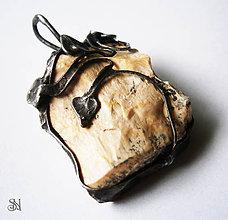 Náhrdelníky - Sila prírody - opál - 6194570_