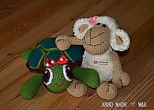 Hračky - korytnačka - 6194023_