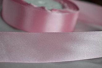 Galantéria - Stuha ružová 25mm, 0.22€/meter - 6194288_