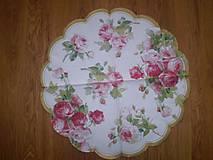 Papier - Servítka Ruže - 6196029_
