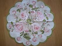 Papier - Servítka Ruže - 6196040_