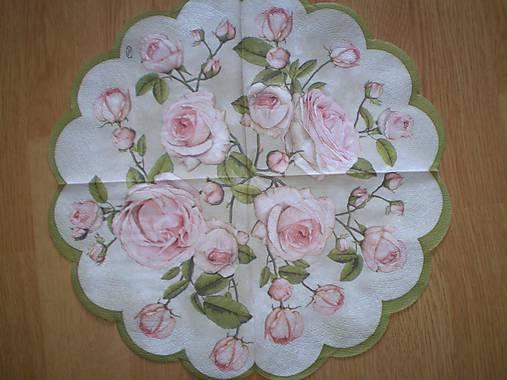 Servítka Ruže
