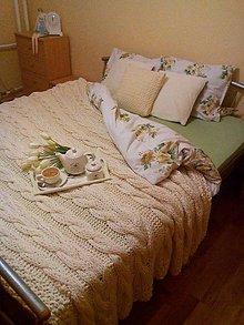 Úžitkový textil - Deka, prehoz ...toto nevymyslíš , to je láska... - 6197713_