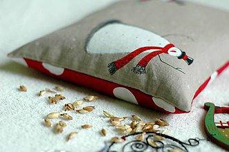 Textil - ...šupkoví snehuliaci... - 6198650_