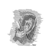 Grafika - Línie - počuť (print v ráme) - 6200157_