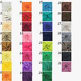 Šaty - Spoločenské šaty s tylovou krajkou a saténovou sukňou rôzne farby - 6198911_