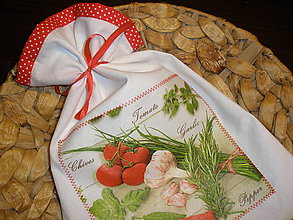 Úžitkový textil - ...vôňa byliniek... - 6199731_