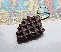 Kľúčenky - čoko-kľúčenka Wafflička - 6199107_