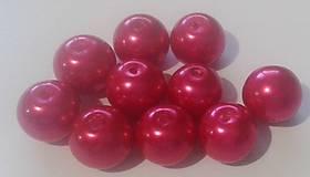 - Voskované perličky Ø 10mm, 10 ks  - 6198435_