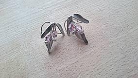 Náušnice - ..MIA leaf ... náušnice puzetky - 6201174_