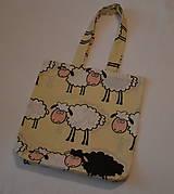 Nákupné tašky - taška Black sheep - 6202464_