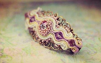 Iné šperky - Soutache spona do vlasov - 6202817_