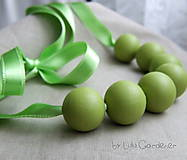 Náhrdelníky - Jabĺčkový náhrdelník - 6203379_