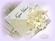 Papiernictvo - Vianočná vanilka... - 6201621_