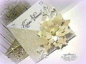 Papiernictvo - Vianočná vanilka... - 6201623_