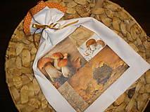 Úžitkový textil - ... vrecúško ježko... - 6201752_